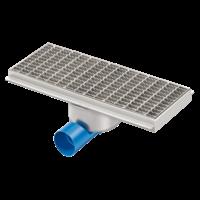 Horeca stainless steel drainage gutter | 500 mm