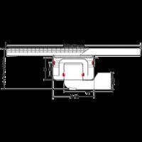 Horeca RVS Afvoergoot   500 mm