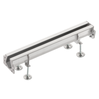 Coupling bars Slot channel | Stainless steel 85 l / min | 230 x 230 mm