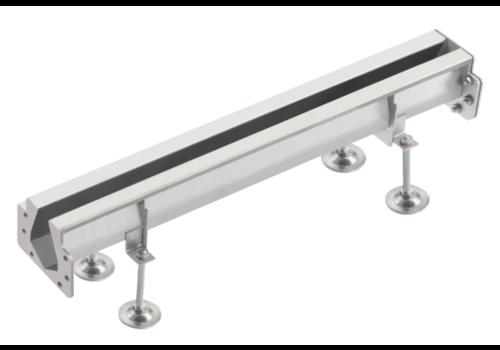 Van den Berg  Coupling bars Slot channel | Stainless steel 85 l / min | 230 x 230 mm