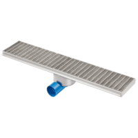 Drainage gutter | Stainless steel 1000 x 200 mm