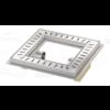 Van den Berg  Floor drain | Square Stainless steel 300 x 300 mm