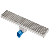Drainage gutter | Stainless steel 1500 x 200 mm