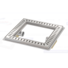 Van den Berg  Floor drain | Square Stainless steel 400 x 400 mm