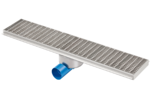 Van den Berg  Drainage gutter | Stainless steel 2000 x 200 mm
