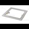 Van den Berg  Floor drain | Square Stainless steel 600 x 600