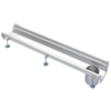 Van den Berg  Stainless steel gutter part | dim. 500 x 200 mm | incl. exhaust | Ø 110 mm