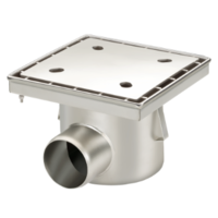 Full stainless steel drain 100 l / min