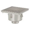 Van den Berg  Drain | Industrial | Stainless steel 300 x 300 mm