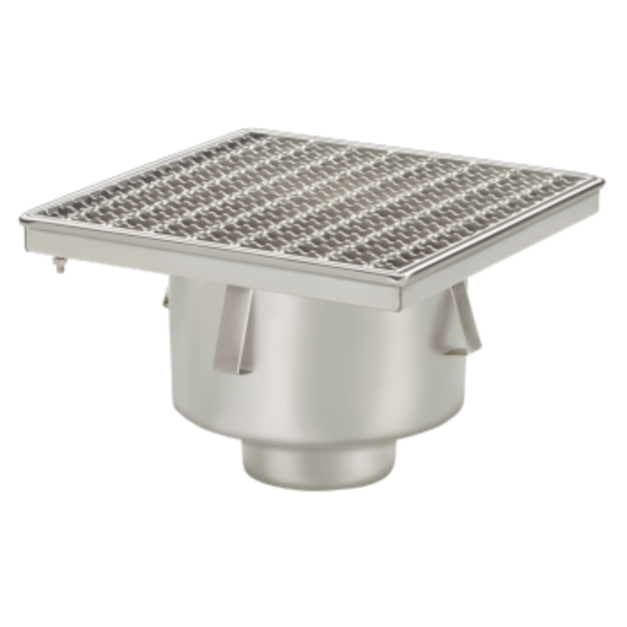 Drain | Industrial | Stainless steel 300 x 300 mm