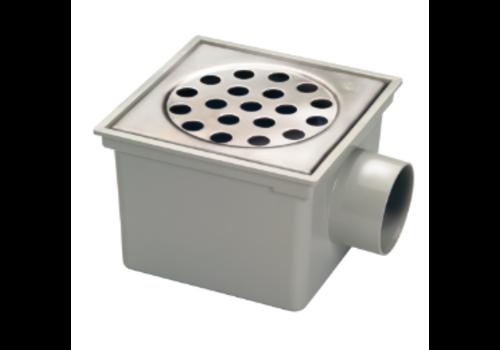 Van den Berg  Bucket Floor Put | ABS | 45 l / min | Square 49 drainage holes