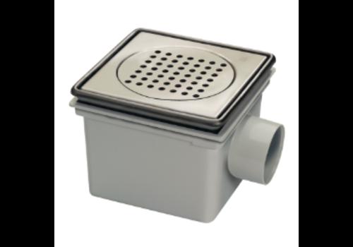 Van den Berg  Bucket Floor Put | ABS | 45 l / min | Square Incl. Sand trap
