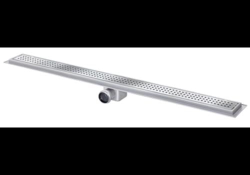 Van den Berg  Drainage gutter   Stainless steel 30l / min   1500 x 100 mm