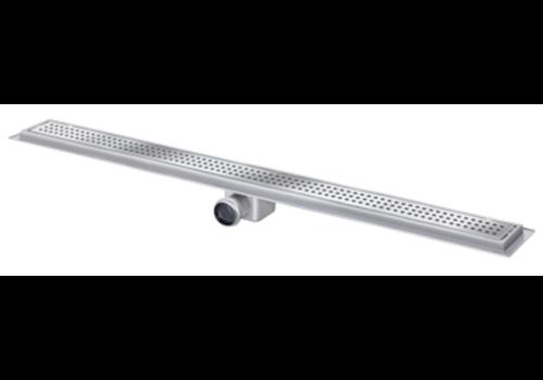 Van den Berg  Drainage gutter | Stainless steel 30l / min | 2000 x 100 mm