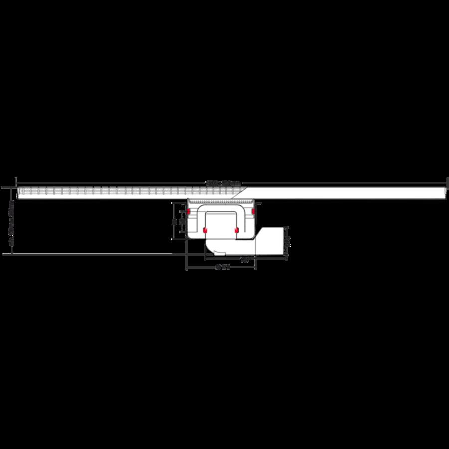 Afvoergoot   RVS   1500 x 200 mm