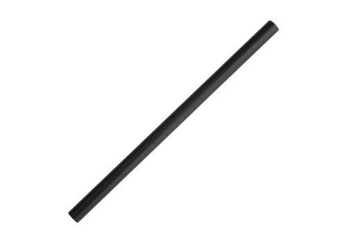 HorecaTraders Paper Straws Black | 250 pieces