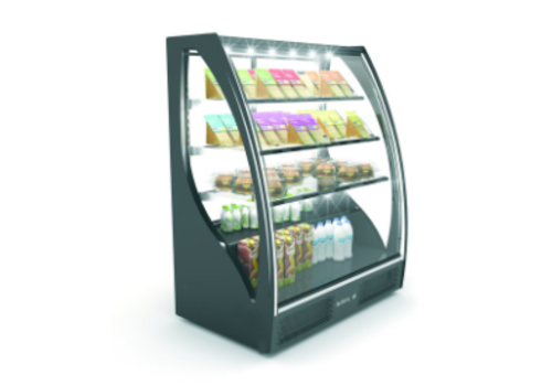 Sayl Display Curved Refrigerated Display   Access on the Front   101.5 x 62 x (H) 124 cm
