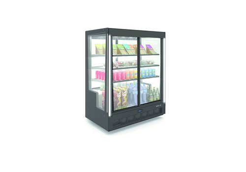 Sayl Display Refrigerated display   Access on the front and rear 101.5 x 62 x (H) 124 cm