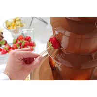 Chocolate fountain 3 layers