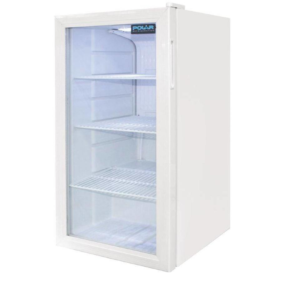 Small Cans Fridge White 88 liters