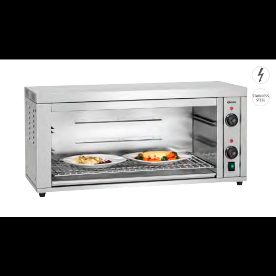 Oven | Salamander 700-2Z II | Temperatuurbereik tot 250 °C | RVS