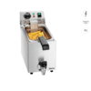 Bartscher Friteuse SNACK I Plus | Rostfreier Stahl 4 Liter 4,2 kG