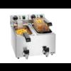 Bartscher Friteuse SNACK II Plus | Rostfreier Stahl 4 Liter 9 kG