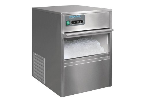 Polar Bullet-shaped icecream machine - 20kg / 24h - Storage 4kg