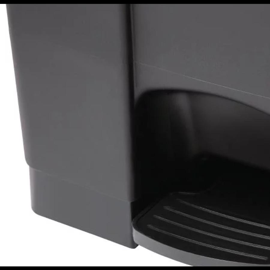 Abfallbehälter schwarz 65L | 4 farben