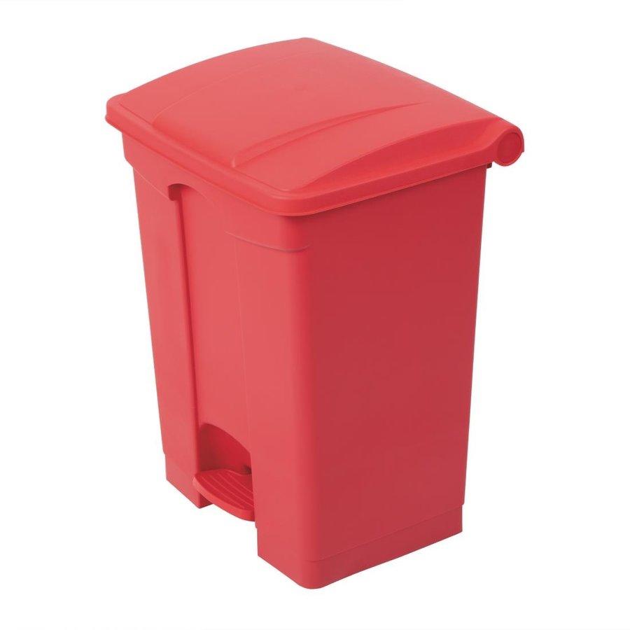 Afvalbak zwart 65L | 4 Kleuren