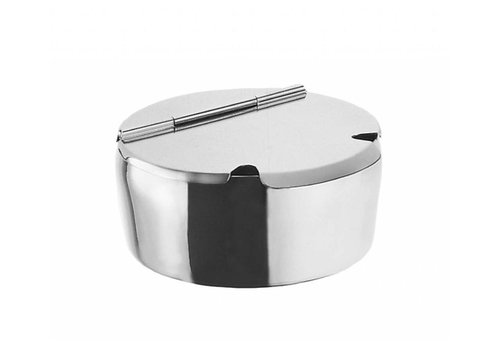 Bar professional Sugar box stainless steel | Ø14 cm