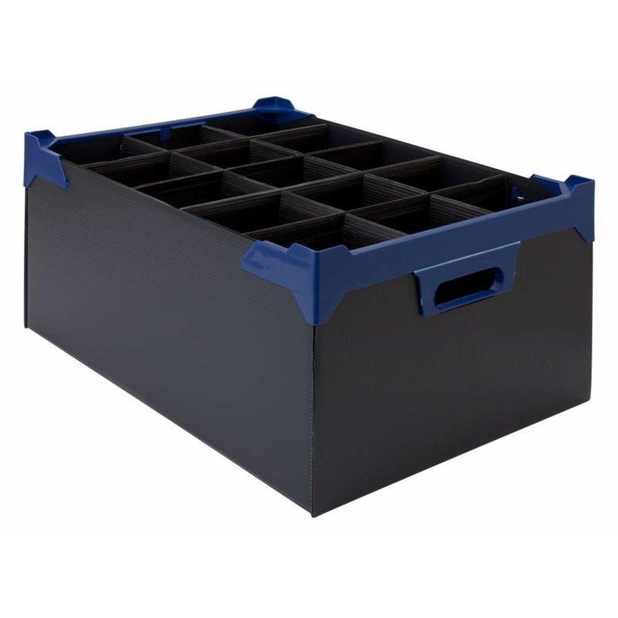 Glass Storage Box | 15 glasses | 500x345x200mm | 5 pieces