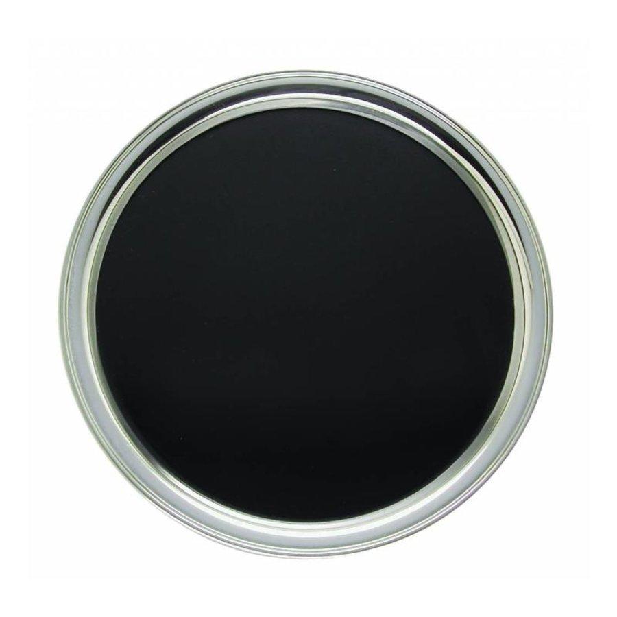 Stainless steel tray | Round | Anti-Slip | Ø35cm