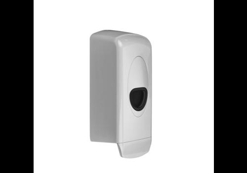 Soap Dispenser 1000 ml Plastic Refillable White