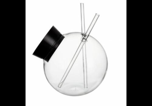 Bar professional Cocktail Glas | 300ml | 2 Rietjes
