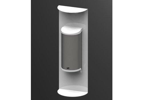 HorecaTraders Handdesinfectie Dispenser | 800ml | Wit | No Touch