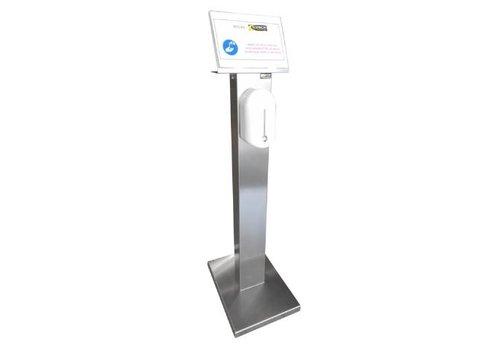 Sofinor Desinfectie Paal | RVS |  525 x 375 x 1409mm