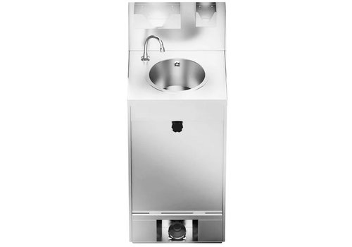 HorecaTraders Mobiles Handwaschbecken | 20 Liter | 200 Wäschen