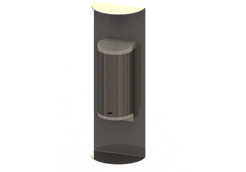 HorecaTraders RVS Handdesinfectie Dispenser  | 800ml  | No Touch