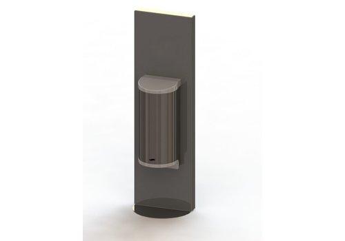 HorecaTraders Desinfectiemiddel dispenser | 0,8 l | RVS