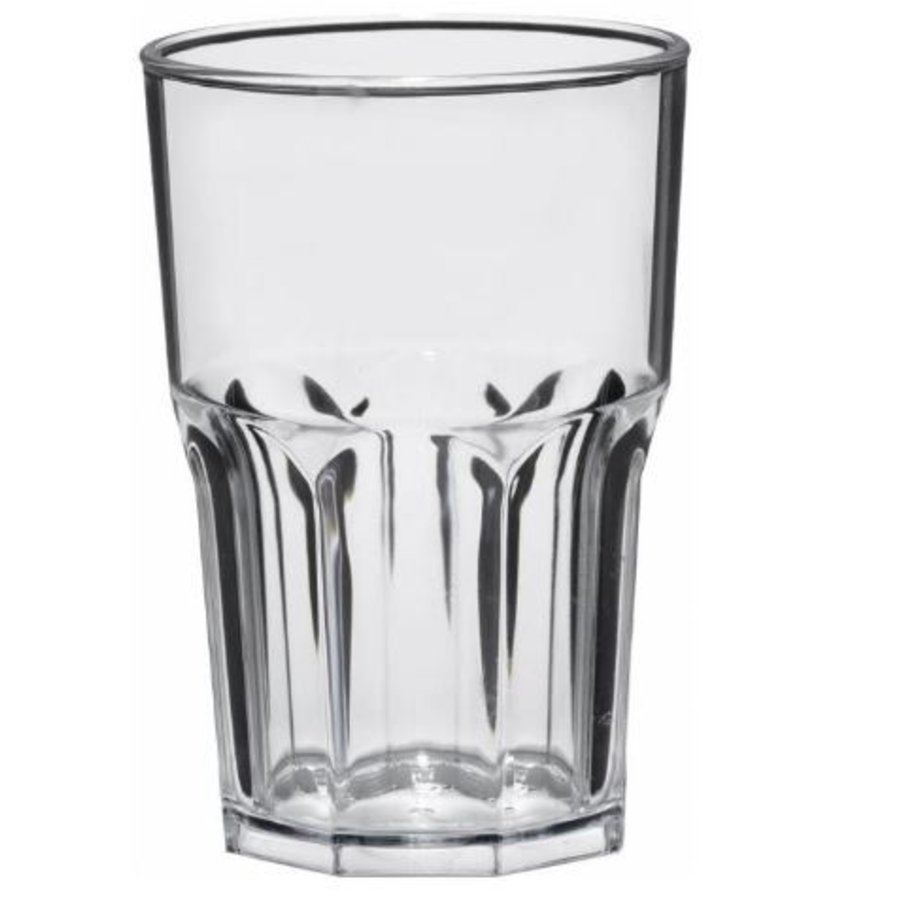 Transparant Glas | Kunststof | Per 15 Stuks