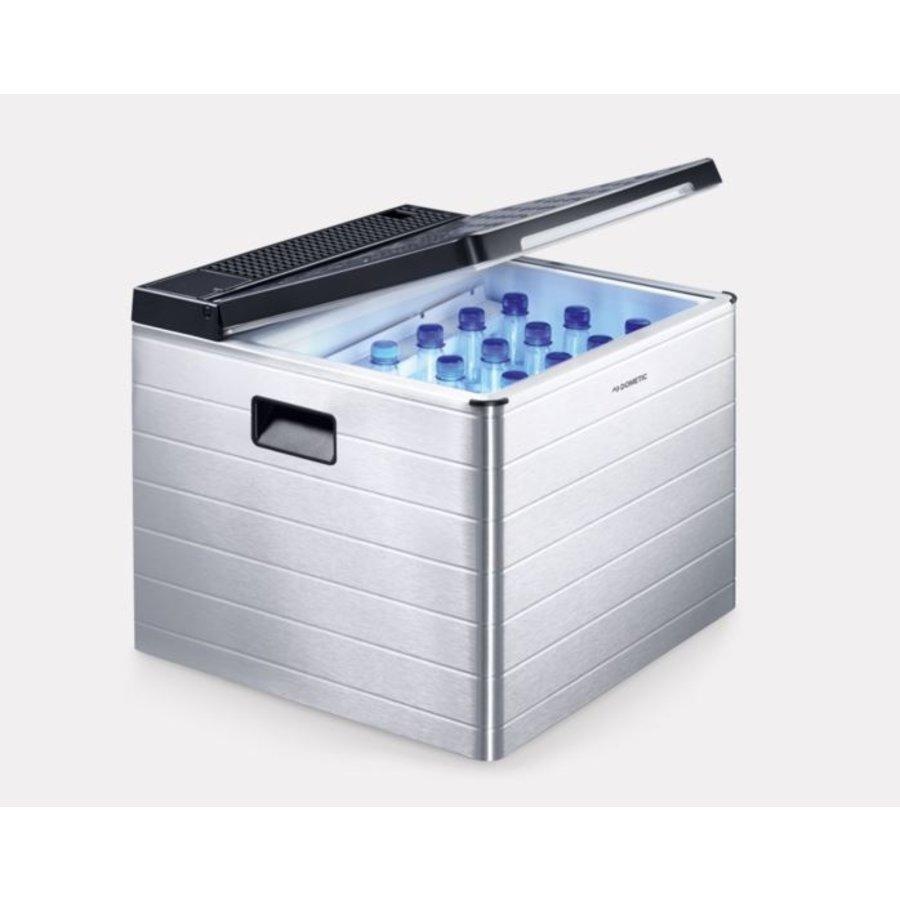 Tragbare Aluminium-Kühlbox | 40 l | 50,8 x 44,4 x 50,0 cm