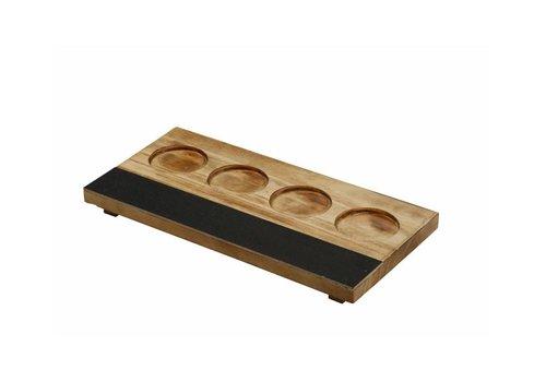 Bar professional Verkostungstafel | Holz / Tafel