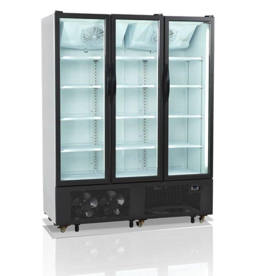 3-türiger Displaykühler   1329 Liter