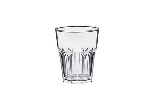 Bar professional Glas Rox transparant | Kunststof | 8 stuks | 30cl