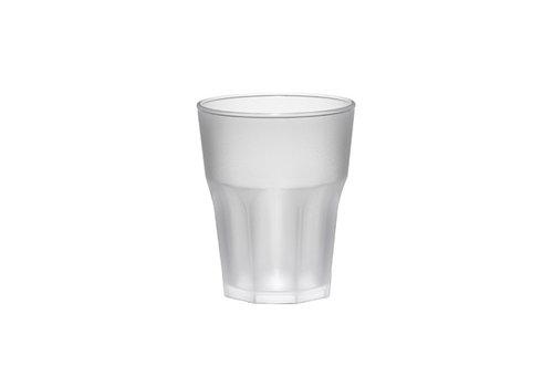 Bar professional Glas Rox frosted | 30 cl | 8 stuks | Kunststof