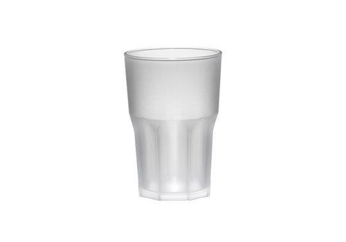 Bar professional Bar Professional Glas Granity frosted | 40 cl | Kunststof | 8 stuks