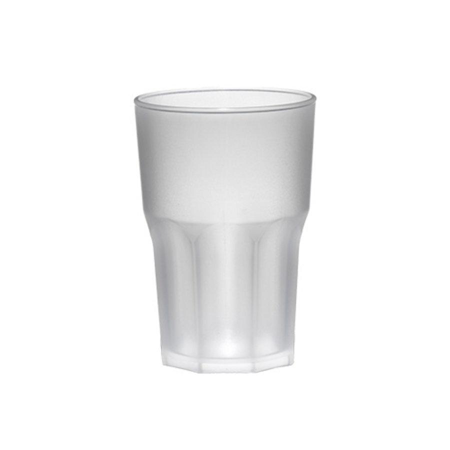 Bar Professional Glas Granity frosted | 40 cl | Kunststof | 8 stuks