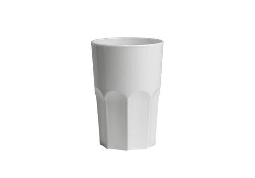 Bar professional Glas Granity weiß | 40 cl | Kunststoff | 5 Stücke