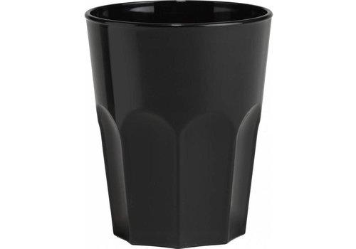Bar professional Glas Rox schwarz | 30 cl | 8 Stk